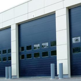 NASSAU 9000F. Ledende produsenter av garasjeporter, industrielle leddheiseporter og port service