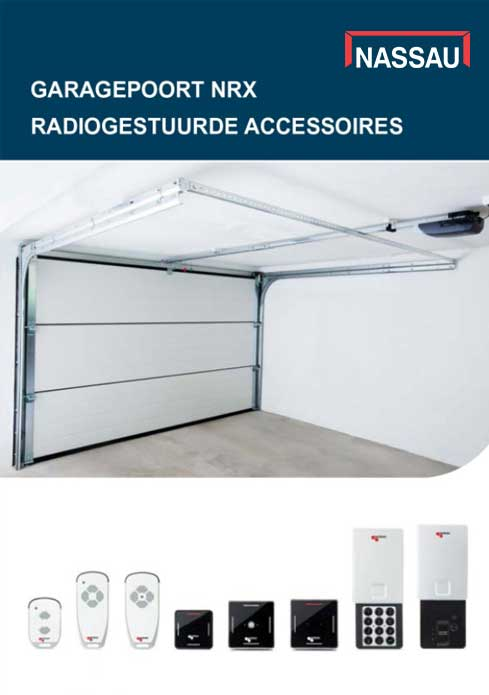 nassau garagepoorten radio brochure NL