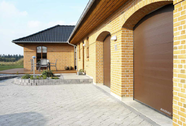 garagepoort woodgrain