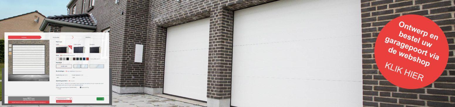 verkoopsbanner classic garagepoort