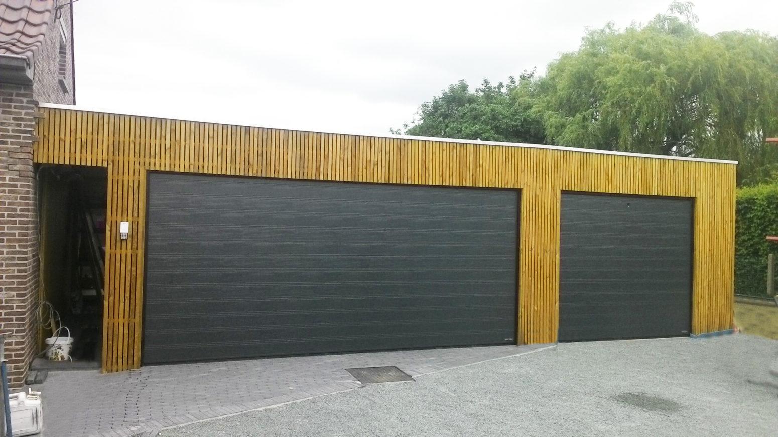 Garagepoorten woodgrains