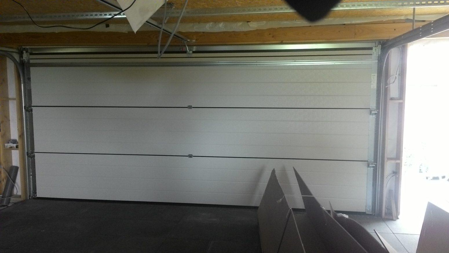 Binnenkant garagepoort