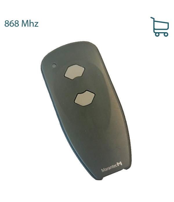 Handzender Digital 382-868,3 Mhz - 2 kanaals